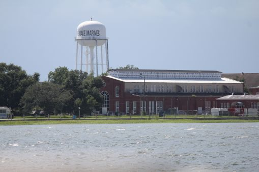 Water tower at Parris Island